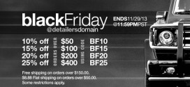 Black Friday @DetailersDomain