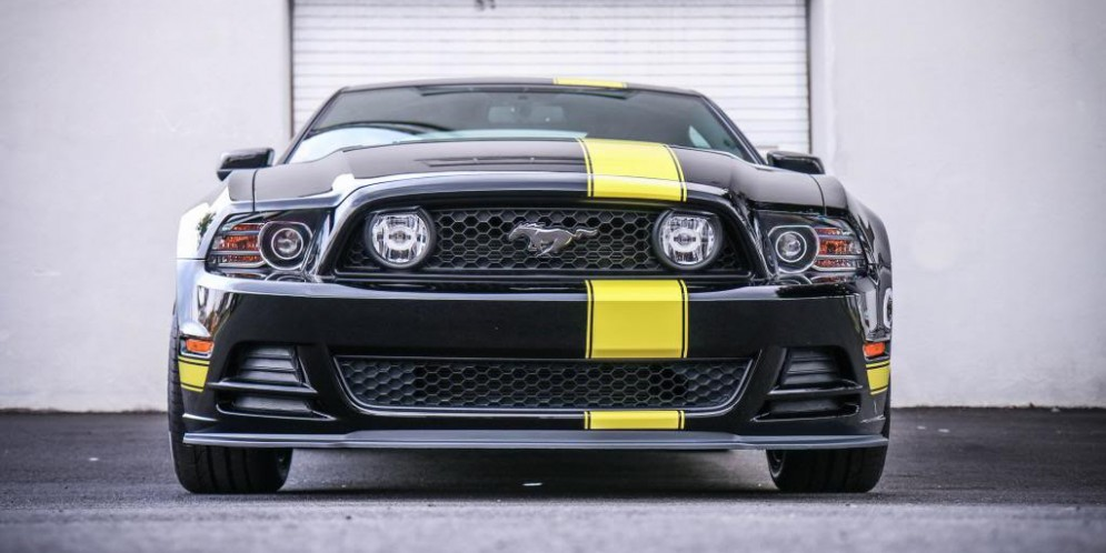 Hertz Penske Mustang GT – Correction and Opti Coat