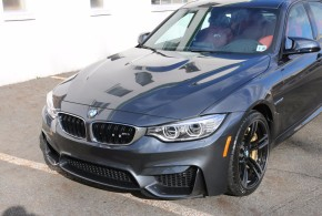 Mineral Gray BMW M3 wearing Modesta Glass Coating