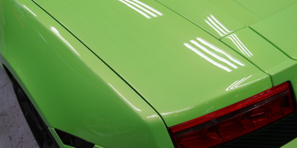 Gallardo gets Paint Correction, Xpel, and Modesta Glass Coating